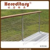 Decking Wire Railing Timber Wood Handrail Stainless Steel Baluster (SJ-X1046)