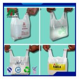Reuseable Strong Plastic Vest Handle Bag