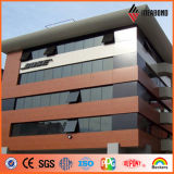 Aluminum Composite Material with Wooden Finish