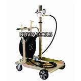 Intelligent Design, Low Pressure, Mobile Air Operated Automatic Oil Pump/Dispensing/Distributing Kit/ Lubricator Td-341g