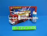Battery Operated Bubble Toy Fire Engine Car (1634108)