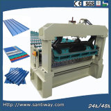 Small Steps Roof Tile Cold Roll Forming Machinev