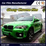 Green Glossy Chrome Film Car Vinyl Wrap Vinyl Film for Car Wrapping Car Wrap Vinyl
