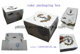 OEM Eco-Friendly Materials Cake Box with Clear PVC Window