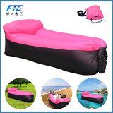 190t Polyester Portable Inflatable Sleeping Bag Lazy Bag