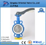 Ductile Iron Lug Type Butterfly Valve with Aluminum Lever