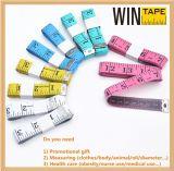 150cm/60inch Soft Promotional Printable Measuring Tape with Company Logo or Name
