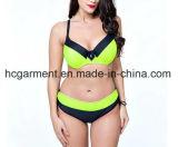 Lady′s Large Size Bikini. Plus-Size Bikini Swimming Wear