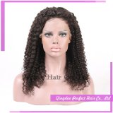 Fashion Brazilian Natural Color Human Hair Full Lace Wig