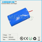 (7.4V 2600mAh) Hot Sale Rechargeable Battery for POS