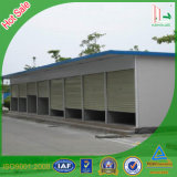 Prefab Houses in Car Port Design with Light Steel Structure