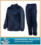 Wholesale Men′s Breathable Sports Suits / Track Suit with Polyester Fabric