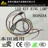 LED Auto Car Key Scanner Ring Hole Interior Inner Lamp Light for Honda