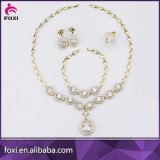 Wuzhou Foxi Wedding Jewelry Sets White CZ Stone Jewelry Sets
