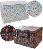 Multipurpose Foldable Box Storage, Durable Makeup Storage Box