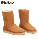 Purely Handmade Classic Women Winter Boots in Chestnut