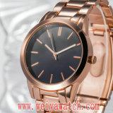 ODM Casual Leather Strap Quartz Ladies Wristwatch (Wy-17022)