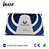 6 Inch Video Card
