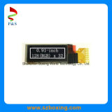 0.91-Inch 128 (RGB) X 32p OLED Display, White Color