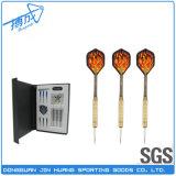 (16g) 12 PCS Brass Barrels Plastic Soft Tip Darts
