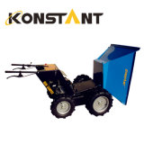 Dual Wheel Mini Transporter Garden Loader 300kg Loading with Huge Bucket