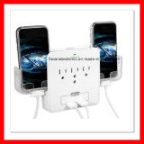 UL Swivel Outlets, 6 Outlet Wall Adapter with Dual USB Port