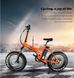 20 Inch Mini Folding Fat Tire Electric Snow Cruiser Bike