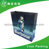 Luxury Customized Handmade Paper Shopping Bag with Handle