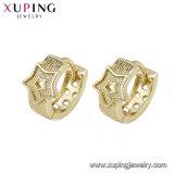 94692 Newest Elegant Star Shape 14K Gold Jeweley Earring Design for Women