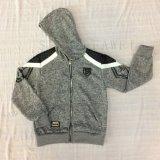 Fleece Boy Design Coat Clothes with Hood in Kids Sport Clothes Sq-6450