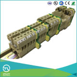 Screw DIN Rail-Mounted Wire Connection Terminal Blocks 2.5mm2 to 70mm2