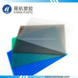 Twin-Wall Frosted Polycarbonate Hollow Panel for Roofing Sheet
