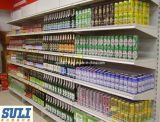 Popular Shop Supermarket Display Shelf with Hanging Back