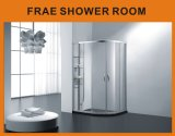 Shower Enclosure with Three Layers Commodity Shower Shelf