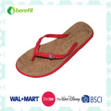 Women′ S Slippers with EVA Sole, Two Tone Sole
