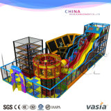 Kids rope course and trampoline park