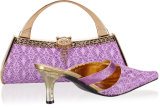 Italy Matching Shoe and Bag Set (SB8721)