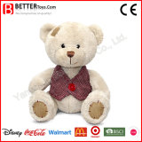 Plush Stuffed Toy Soft Patched Teddy Bear for Children/Kid