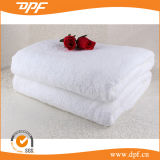 Standard Size White Cotton Bath Towel for Hotel and Home