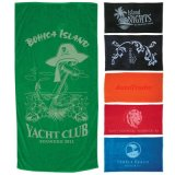 China Factory Promotional Customized Premium Fitness Towel in a Mesh Pouch