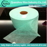 15GSM White SMS Waterproof Nonwoven Fabric for Diaper Leg Cuff