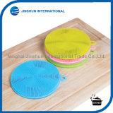 Round Silicone Wash Tool Dish Brush