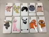 Cute Animal TPU Case Cover Holder Protective for iPhone X