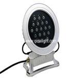 Single R/G/B LED Wall Washer, 18LED, Round