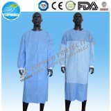SMS Disposable Barrier Operation Gown, Three Anti Surgical Gown
