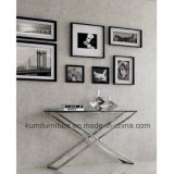 Hot Sale Tempered Glass Console Table