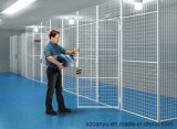 PVC Coated Galvanized Garden Partition Wire Mesh Panels