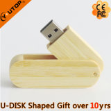Hot Gifts Swivel/Rotating Wooden USB Flash Memory (YT-8106)