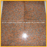 Flamed/Polished G562 Maple Red Granite Stone Tiles for Outdoor Paving