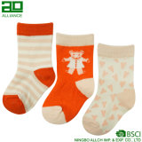 Wholesale Cute Baby Knitted Cotton Custom Baby Socks